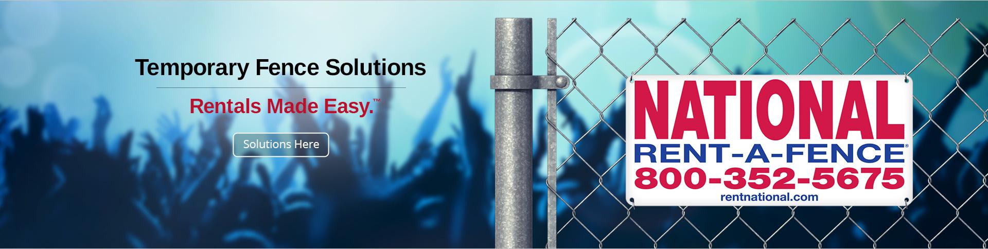 Rent A Fence Event Amp Construction Rentals Events