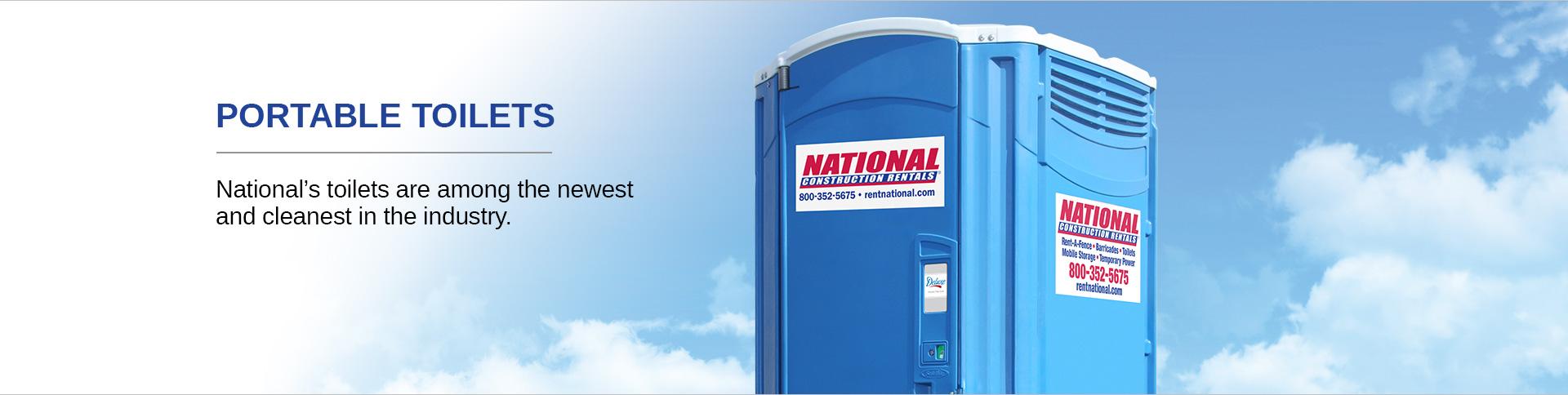 Portable Sanitation Services : Rent portable toilets porta potty rentals national