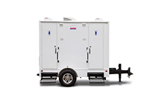 Portable Toilets - Restroom Trailers