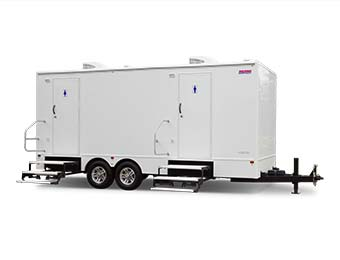 Luxury Portable Toilet Trailer for Special Events