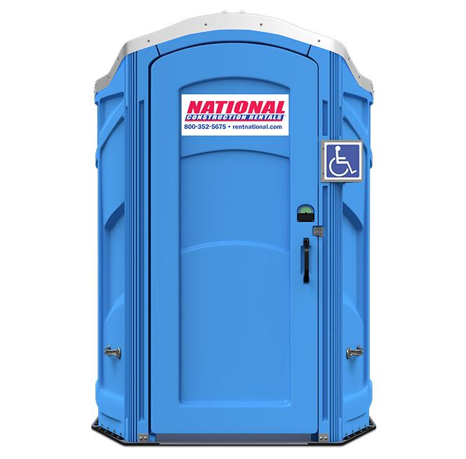 Rent A Fence Porta Potty Rentals Handicap Unit Events - Portable bathroom rentals near me