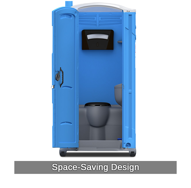 Porta potty with flush portable toilets national rent a Deluxe portable bathrooms