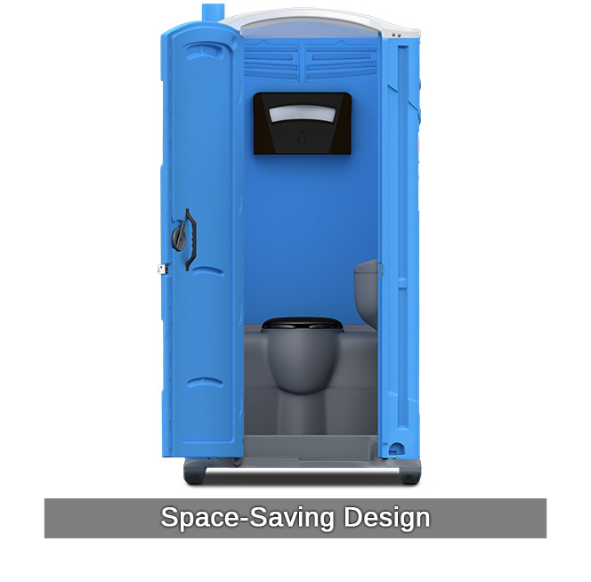 Porta potty rentals deluxe portable toilet with sink for Deluxe portable bathrooms