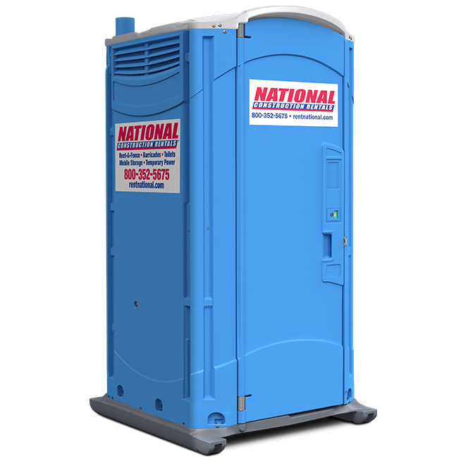 Portable toilet rental porta potties national rent a fence for Porta johns for rent