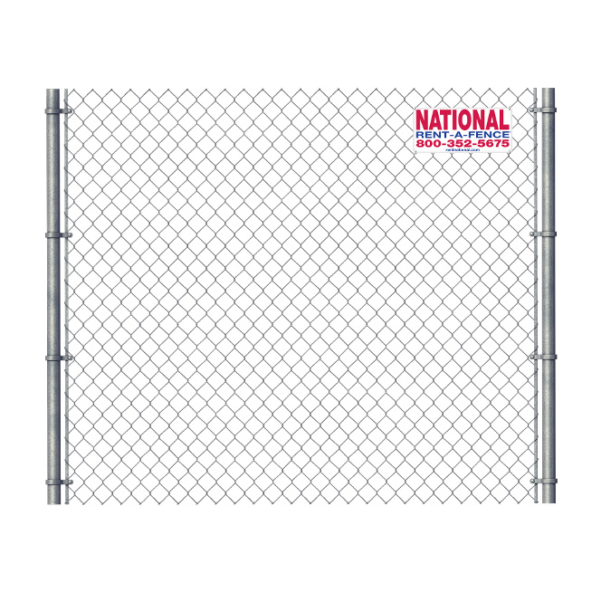 Temporary chain link fence rentals national rent a fence for Chain link fence planner