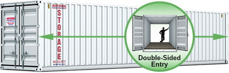 Portable Storage Container 40 ft
